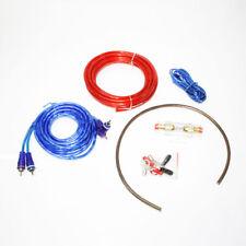600W Audio Auto Subwoofer Amplificatore Cavi Portafusibile Cavo Kit Completo