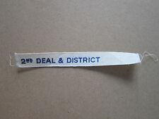 2nd Deal & District Scout Group Troop Name Tape Badge