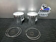 Kawasaki 650 SX X2 650SX TS Pair of Mariner .040 OVER 1.00 MM Piston & rings