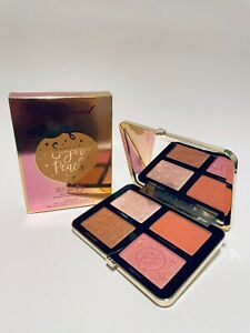 Too Faced Sugar Peach Wet and Dry Face & Eye Palette  FULL SIZE NEW IN BOX!
