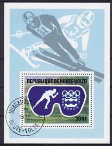 Sport Ski Winter Sports Burkina Faso Upper Volta Block 39, Olympiad 1975