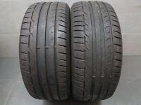 2x Sommerreifen Dunlop Sport Maxx RT 225/45 R17 91W MFS DOT : 3313 ca. 7,0 mm