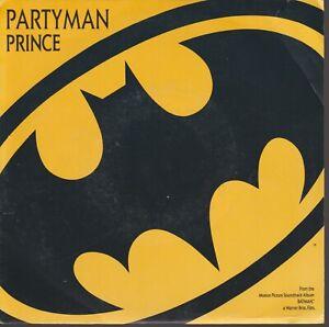 "Prince Partyman 45T 7"" 45 Tours SP France French Pressing Batman"