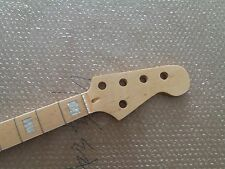 1pc 5string Maple 20 Fret  Bass Neck For Electric Bass Guitar Parts Replacment