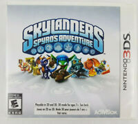 Skylanders Spyro's Adventure 3DS (Nintendo 3DS, 2011) GAME Only