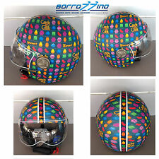 CASCO NZI ZETA GAMEBOARD CANDY CRUSH GRAPHICS - GRAFICA - TG. S 55/56 cm
