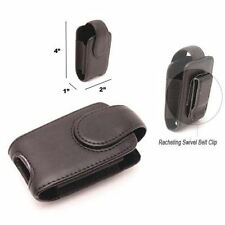 MaximalPower Celphone Holster Pouch For MOTOROLA V3 Razor LEATHER