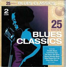 25 Blues Classics 2cd- Mike Bloomfield,John Mayall,Leadbelly,BB King,Buddy Guy +