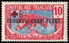 "UBANGI-SHARI B2 - Colonial Red Cross Fund ""Leopard"" (pa94608)"