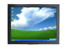 "Metal material 15"" industrial lcd open frame Resistive touch screen monitor"