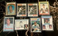 1972-1977 TOPPS (8) Card Lot GAYLORD PERRY #285, 346, (2) 35, 530, 55, 204, 152