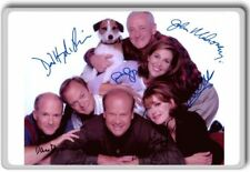 Frasier Cast Autographed Preprint Signed Photo Fridge Magnet