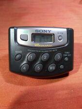 Sony Walkman SRF-M37W Weather/fm/am radio + belt clip tested no 2
