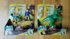 Imaginext Jurassic World Camp Cretaceous Ankylosaurus Bumpy and Ben Allosaurus