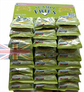 Smiths Scampi Flavour Fries 24 packs 27g Pub Snack Card Carded Bags