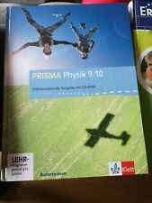 Schulbuch Prisma Physik 9/10 Klett