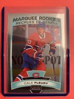 2019-20 OPC Platinum Marquee Rookie #158 Cale Fleury Montreal Canadiens RC
