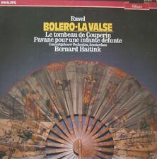 CONCERTGEBOUW ORKEST - BERNARD HAITINK - RAVEL - BOLERO/LA VALSE - LP