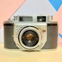 Vintage Minolta A-2 Rangefinder Film Camera F2.8 45mm Serviced Working Order!