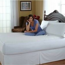 Serta Waterproof Electric Heated Mattress Pad 233T Winter Warmth - Queen Size