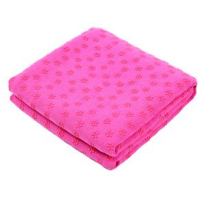 "Microfiber Soft Yoga Towel Non Slip Sweat Absorbent Yoga Mat Towel 24"" x 72"""
