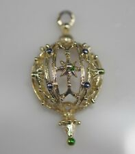 Pendant Vintage Estate Marked Gerry'S Jewelry Christmas Ornament