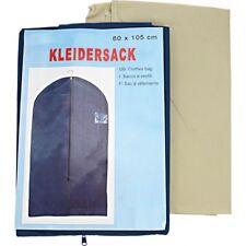 2x Kleidersack Kleiderhülle Schutzhülle atmungsaktiv mit Reißverschluss 60x105cm