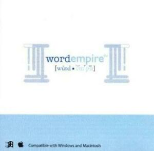 Word Empire PC CD research origin of words, English's Latin Greek Roots meaning