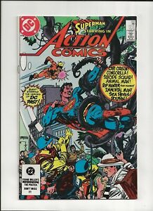 Action Comics #552 (1984) High Grade NM 9.4