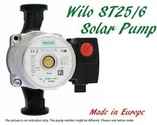 Solar Hot Water Thermal Heating Wilo ST25/6 Pump 3-Speed