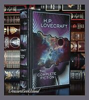 Complete Fiction of H.P. Lovecraft New Sealed Leather Collectible Hardcover