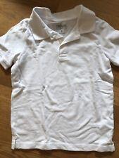 Oshkosh Boys Size 6 Short Sleeve White Uniform Piqué Polo Shirt