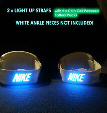 BACK TO THE FUTURE AIR MAG LIGHT UP STRAPS SET Marty Mcfly 2015 80s 1985 strap