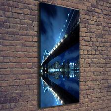 Leinwand-Bild Kunstdruck Hochformat 50x125 Bilder Manhattan New York