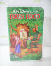 Walt Disney's Robin Hood Black Diamond The Classics VHS 1189