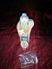 "Carol Lucero Gachupin Pottery  Storyteller Jemez Pueblo Native American 6 1/2"""