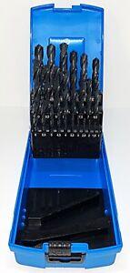 Presto HSS Jobber Drill Set 1-13mm x 0.5 Increments 09500M25