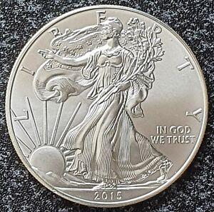 U S A  -  1 US Dollar * American Silber Eagle * 2015 , Anlagemünze , 1oz Silber
