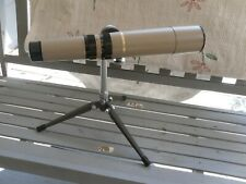 THE DISCOVERER BAUSCH & LOMB ZOOM 60 MIVI8 TELESCOPE W/ TRI POD