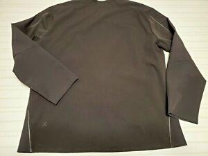Mens Lululemon Lab Black Pullover Jacket Running Size 2XL XXL