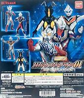 BANDAI HG Ultraman 01 Gashapon 4 set mini figure capsule toys