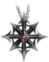 GENUINE Alchemy Gothic Pendant - Chaostar | Men's Alternative Necklace