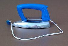 Ancien jouet fer à repasser JOLUX bleu vintage enfant old toy iron for child #3