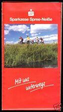 Wanderkarte, Cottbus und Umgebung, um 2000