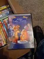 LADY AND THE TRAMP Disney Platinum Edition DVD (50th Anniversary)