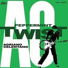 ADRIANO CELENTANO Peppermint twist  1LP vinyl Italian beat