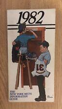1982 New York Mets Signed Media Guide 34 w Mookie Wilson Bob Murphy Rusty Staub