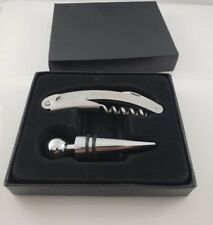 New listing Robb Report Wine Corkscrew and Stopper Set