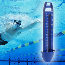 Blue Swimming Pool Spa Tub Bath Temperature Thermometer -20~120℉ & -30~50℃
