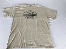 Jack Daniels 2011 World Championship Barbecue Shirt Size Large Defect